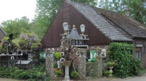 Cottage and garden in Holland